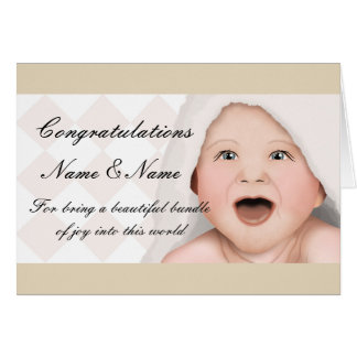 Congratulations New Baby Card