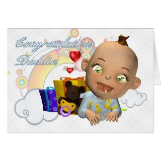 Congratulations new baby gay/lesbian card