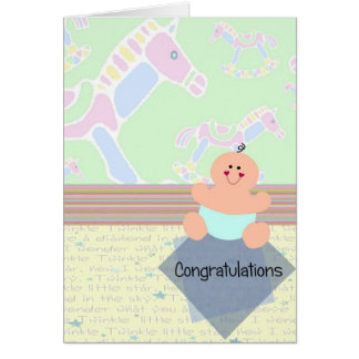 Congratulations, New Baby Greeting Card