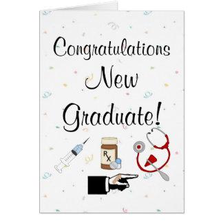 Congratulations New Graduate-Nurse Humour Card
