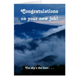 Congratulations New Job Motivational Card