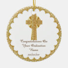 Congratulations Newly Ordained Ordainment Gift Ceramic Ornament