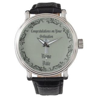 Congratulations Newly Ordained Ordainment Gift Watch