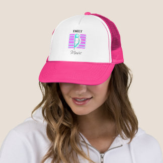 Congratulations Note, Musical Performance Trucker Hat