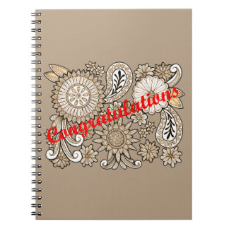 Congratulations Notebook