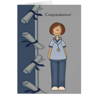 Congratulations Nurse Graduate Personalized Card