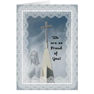 Congratulations on Becoming a Nun Card