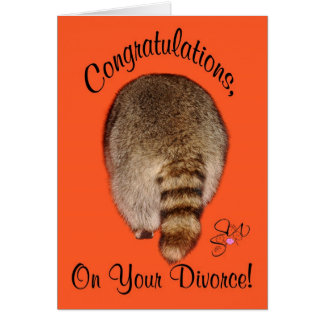 Congratulations On Divorce Card