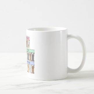 Congratulations on end of  Radiation Treatments Coffee Mug