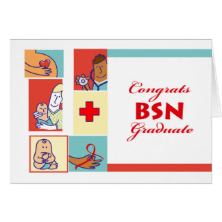 Congratulations on Graduation, BSN Degree, Nursing Card