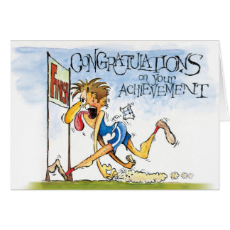 Congratulations on our Achievement Card