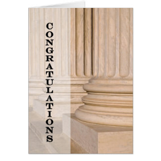 Congratulations on Passing the Bar Law Test Exam Cards