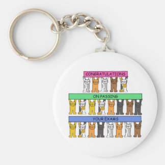 Congratulations on Passing your exams. Keychain