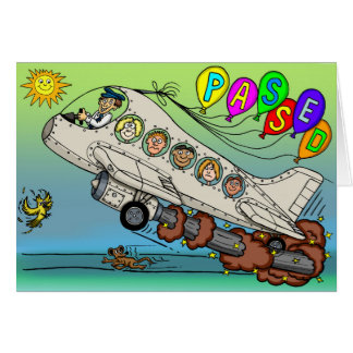 Congratulations On Passing Your Pilots Licence Card