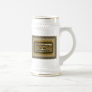 Congratulations On Your 50th Wedding Anniversary Beer Stein