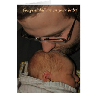 Congratulations on your baby card