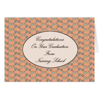 Congratulations on your Graduation From Nursing Sc Card