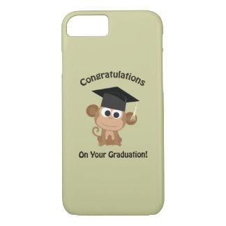 congratulations on your graduation monkey iPhone 7 case
