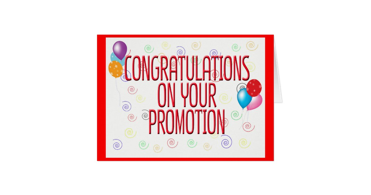 Congratulation On Your Promotion Congratulations On Your