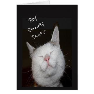 Congratulations Promotion Humor Kitten Animal Card