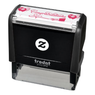Congratulations Self-inking Stamp