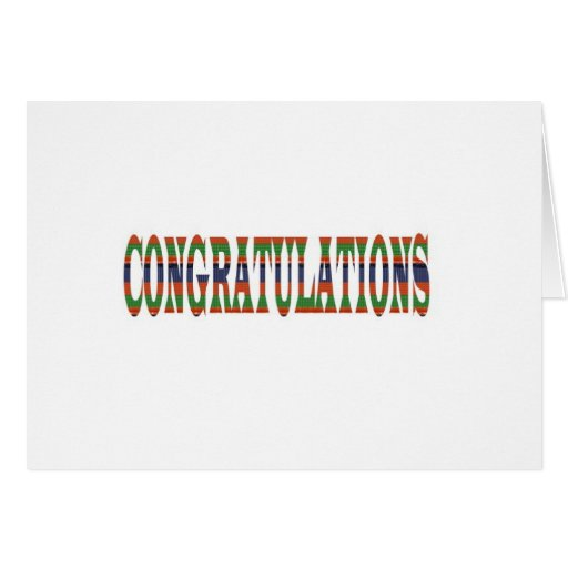 CONGRATULATIONS: Success, Excellence,Event, GIFTS Card