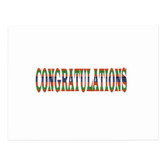 CONGRATULATIONS: Success, Excellence,Event, GIFTS Post Cards