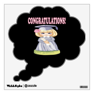 Congratulations Wall Decal