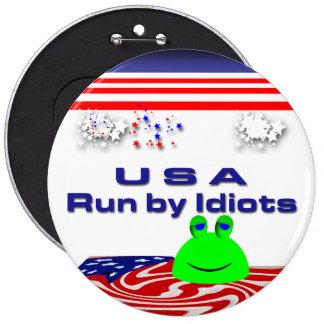 Congress 6 Inch Round Button