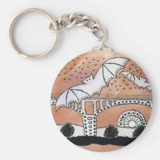 Congress Avenue Bats Keychain