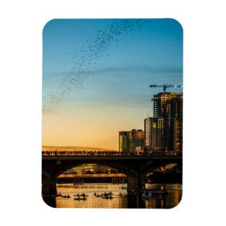 Congress Avenue Bridge Bat Watching Magnet