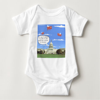 Congress & Gun Violence Talk When Pigs Fly Baby Bodysuit