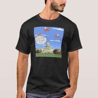 Congress & Gun Violence Talk When Pigs Fly T-Shirt