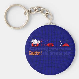 Congress Keychain
