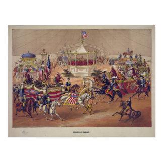 Congress of Nations (1875) Postcard