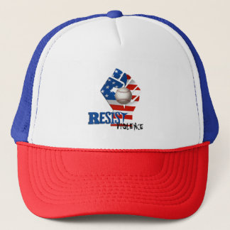 Congressional Baseball Resist Violence Trucker Hat