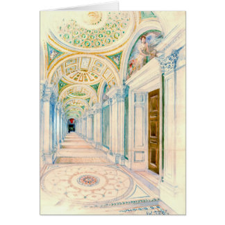 Congressional Library Washington DC 1897 Card