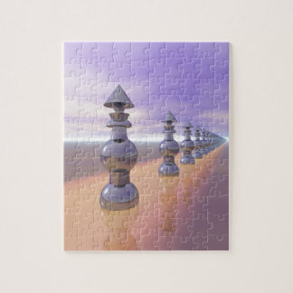 Conical Geometric Progression Jigsaw Puzzle