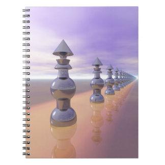 Conical Geometric Progression Notebooks