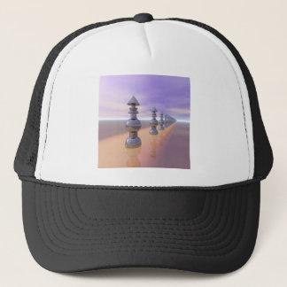 Conical Geometric Progression Trucker Hat