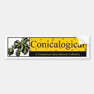 Conicalogical Bumper Sticker
