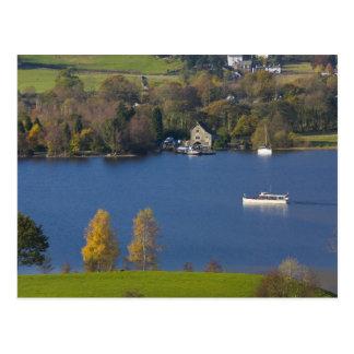 Coniston Water, Lake District, Cumbria, England Postcard