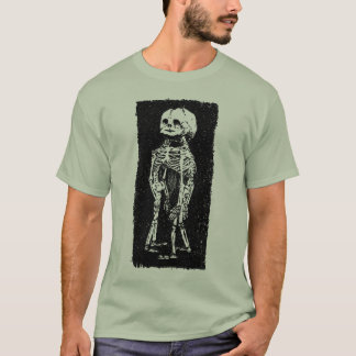 Conjoined Fetus Skeleton T-Shirt