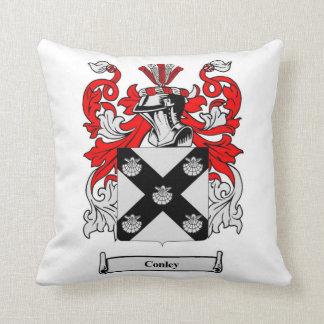 Conley Family Crest Square Pillow