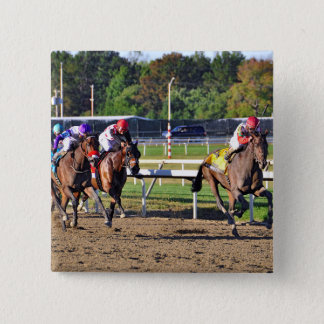 Connect, Pennslyvania Derby Winner 2 Inch Square Button