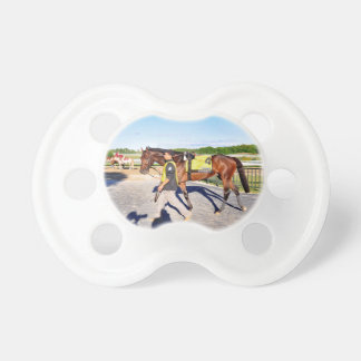 Connect - Pennsylvania Derby Winner Baby Pacifiers