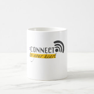 Connect to your heart mugs