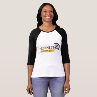 Connect to your heart Sleeve Raglan T-Shirt