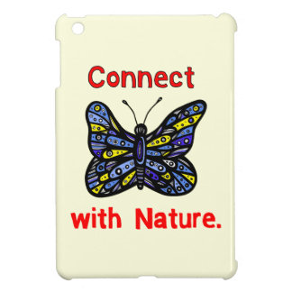 """Connect with Nature"" iPad Mini Case"