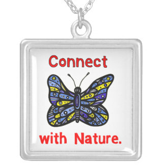 """""""Connect with Nature"""" Sterling Silver Necklace"""